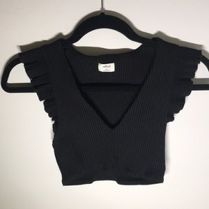 Wilfred Ribbed Crop Top XS - Never worn